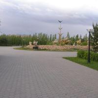Впереди - буйная скульпторская фантазия / Sculptor - a great visionary, Таскескен