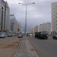 Напряженный ритм проспекта Мамыш-улы / Intense rhythm avenue Mamysh-uly, Таскескен