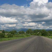 Вид над Зыряновском, Андреевка