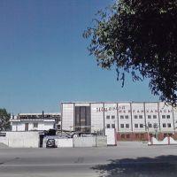 Бывшая фабрика Первичной Обработки Шерсти (ПОШ). Теперь ресторан. Белое двухэтажное справа здание - бывшая диспетчерская троллейбусов., Капал