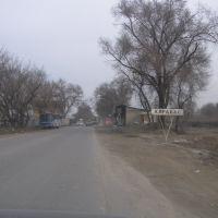 Верхнее начало села Алгабас/Top top village Algabas, Карабулак