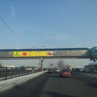 Пешеходный мостик на Алтын-Орде, Карабулак