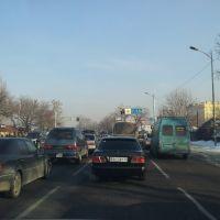 Сложный перекрёсток в Калкамане, Карабулак