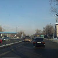 Западное начало улицы Ташкентской, Карабулак