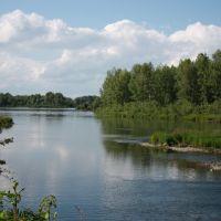 Иртыш в районе бывш. понтонного моста, Кировский