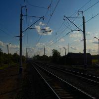 Платформа Шахматово / Shakhmatovo railway station, Кугалы