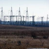 Подстанция 500 кВ Челябинская. Electric substation 500 kV Chelyabinsk., Кугалы