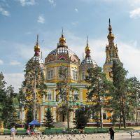 Вознесенский собор, Алматы. 1904-1906  Ascension Cathedral, Almaty. 1904-1906, Панфилов