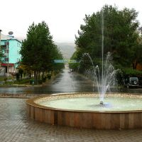 Gagarin street, Текели