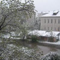 Вид с балкона, Текели