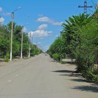 Str. Gurba, Satpayev / ул. Гурбы, г. Сатпаев, Учарал