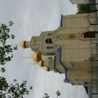 kustanay - Qostanay 20-6-2004 Iglesia nueva, Амангельды