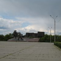 Площадь целинников, Амангельды