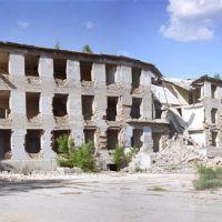 руины штаба дивизии, Державинск