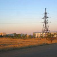 Former Stepnoy settlement, Державинск