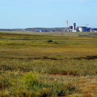 "Construction of ""Kazcement"" plant, Алексеевка"