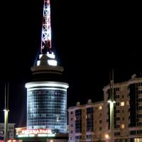 Ночью, Астана