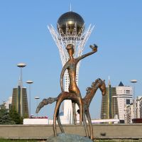 Всадник, Астана