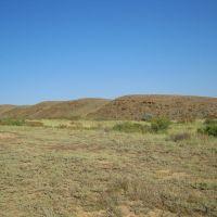 Steep bank of Urynsay river, Атабасар