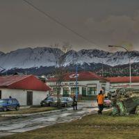 Le centre de secours, Жалтыр