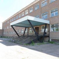 Парадный вход школа №2, Макинск
