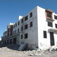 Развалины заводских пятиэтажек, Макинск
