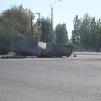 Кольцо около школы №4, Макинск