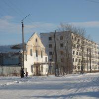 Развалины старой поликлиники, Макинск