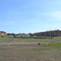 Вид на лесновские четырехэтажки, Макинск