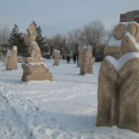 Скульптуры, Актобе