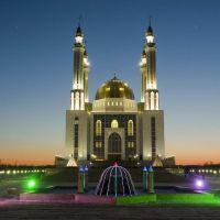 12 микрорайон, жана мешіт/new mosque, Актобе