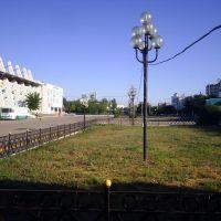 пр. Абулхаир-хана вид на Стадион, Актобе