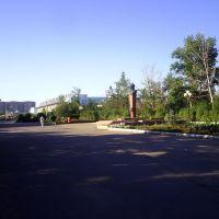 памятник Пацаеву, Актобе