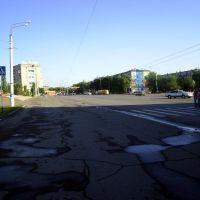 вид на площадь с торгового дома, Актобе