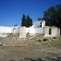 Развалины детского сада в Обуховке, Акший
