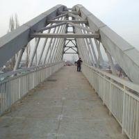 Пешеходный мостик на Рыскулова - Емцова, Аршалы