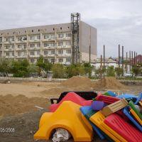 Реконструкция Санатория, Атырау