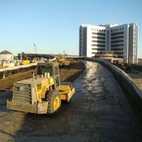 Новый вид КазМунайГаза с мостом, Атырау