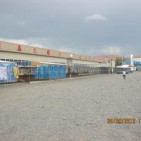 Крытый рынок г. Ушарал, Балкашино