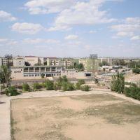 Стадион (вид с ю-з вышки), Жезказган