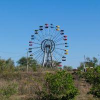 The Ferris wheel, Zhezkazgan / Колесо обозрения, г. Жезказган, Жезказган