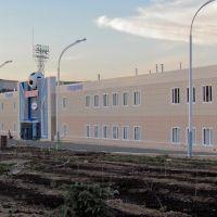The central city stadium / Центральный городской стадион, Жезказган