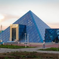 Zhezqazghan Pyramid Civil Registry Office / Жезказганская пирамида ЗАГС, Жезказган