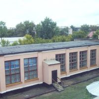 Вид на столовую школы, Кокшетау