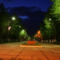 Ночь, Кокшетау