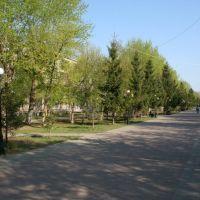 Весна на Сатпаева, Кокшетау