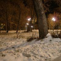 парк в центре, Кокшетау