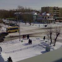 перекрёсток ул. М.Горького, Кокшетау