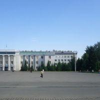 Центральная площадь, Кокшетау