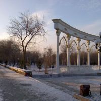 Central Park - early winter, Кокшетау